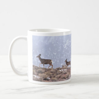 Trailing Deer Coffee Mug