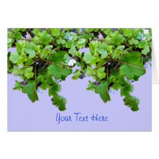 Trailing Ivy Card - Customise