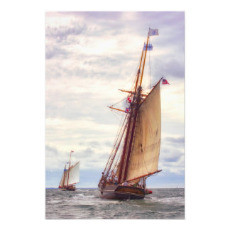 Trailing The Whaler Photo Print