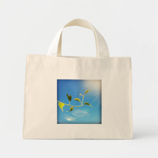 Trailing Vine Themed Tiny Tote