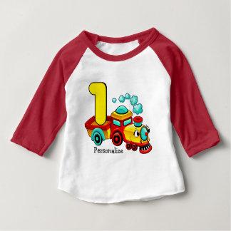 Train 1st Birthday Custom Baby T-Shirt