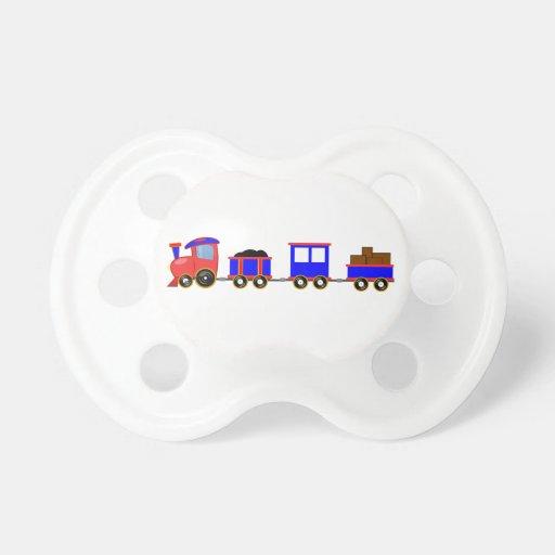 train-312107 train cartoon toy engine cars red blu baby pacifiers