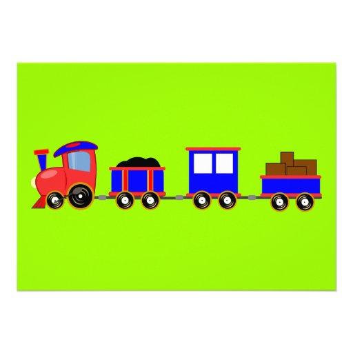 train-312107 train cartoon toy engine cars red blu card