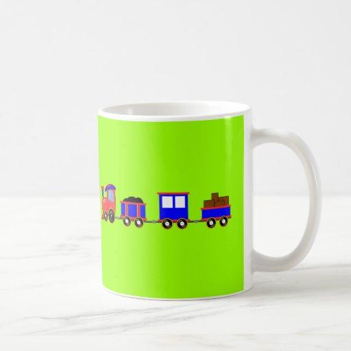 train-312107 train cartoon toy engine cars red blu mug