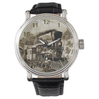 Train 32 Watch & Numeral Options