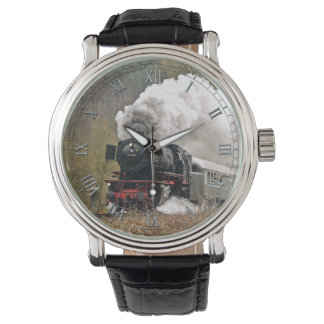 Train 34 Watch & Numeral Options