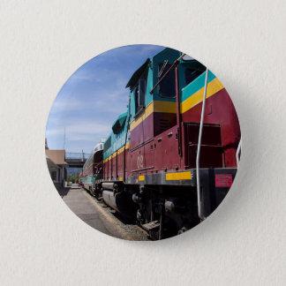 Train 6 Cm Round Badge