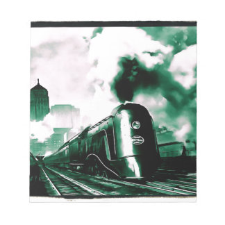 Train Art Notepad