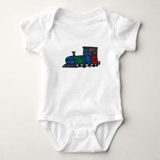 train baby bodysuit