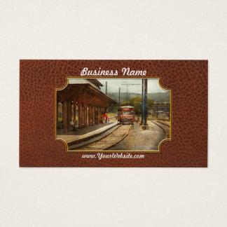 Train - Boarding the Scranton Trolley Business Card