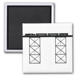 Train Bridge Magnet