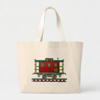 Train Caboose Car Bags/Totes Jumbo Tote Bag