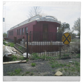 Train Car Napkins