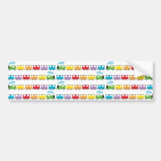 Train &  Carriages Bumper Sticker