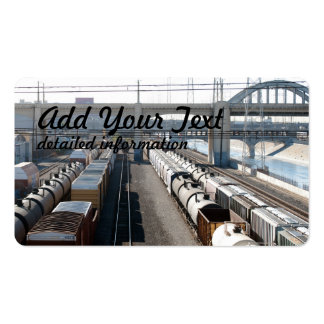 Train Cars Pack Of Standard Business Cards