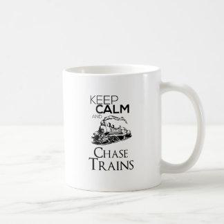 train chase design cute coffee mug