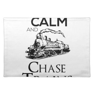 train chase design cute placemat
