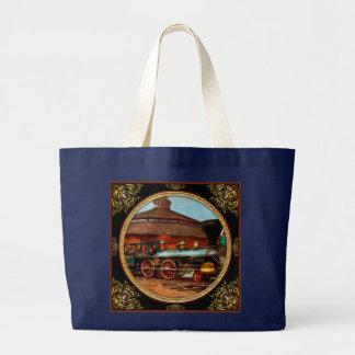 Train - Civil War - General Haupt 1863 Large Tote Bag