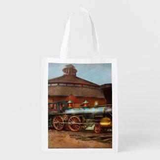 Train - Civil War - General Haupt 1863 Reusable Grocery Bag