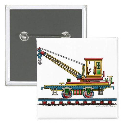 Train Crane Car Maintenance Car Pins