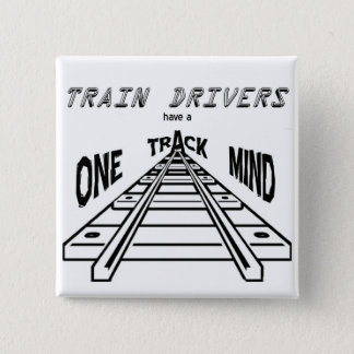Train Drivers 15 Cm Square Badge