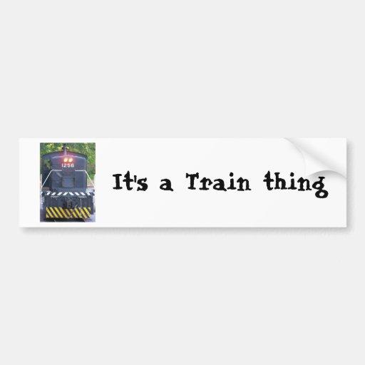 train engine bumper stickers