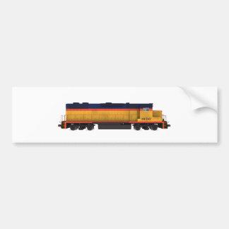 Train Engine: Chesapeake Color Scheme: Bumper Sticker