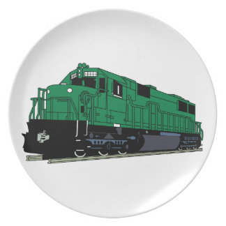 Train Engine Plate