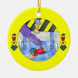Train Engineer Ornament