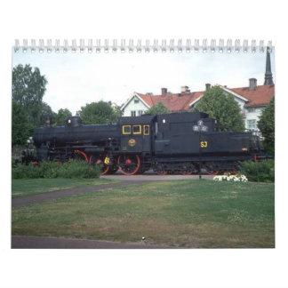Train Enthusiests Calendar