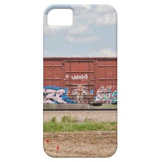 Train Graffiti Case For The iPhone 5