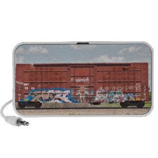 Train Graffiti Travel Speaker