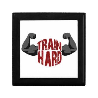 Train hard gift box