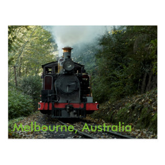 Train in Melbourne, Australia Postcard