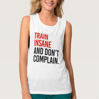 Train Insane and Don't Complain Singlet