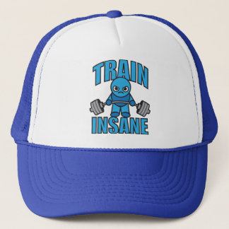 TRAIN INSANE Kawaii Weightlifter Deadlift Workout Trucker Hat