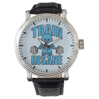 TRAIN INSANE Kawaii Weightlifter Deadlift Workout Watch
