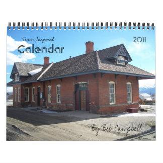 Train Inspired Calendar