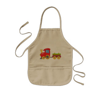 Train Kids Apron