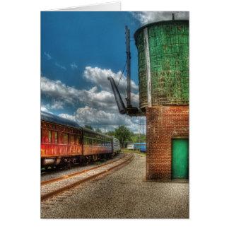 Train -  KITCHI GAMMI -  Pullman Greeting Cards