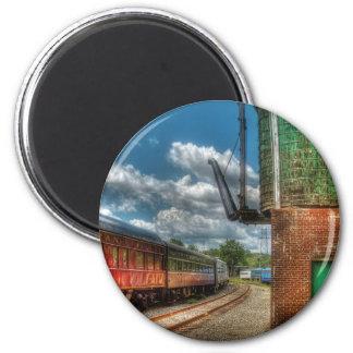 Train -  KITCHI GAMMI -  Pullman Refrigerator Magnets