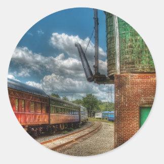 Train -  KITCHI GAMMI -  Pullman Round Sticker