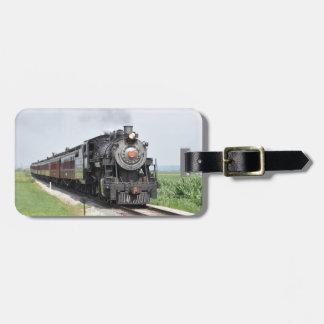 Train Luggage Tag