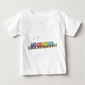 Train on Track Baby T-Shirt