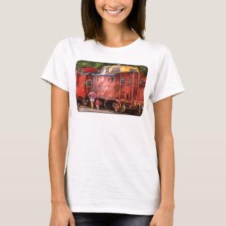Train - Pennsylvania, Northern Region Caboose T-Shirt