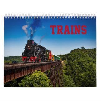 Train Photo Calendar