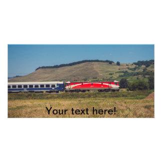 Train Customized Photo Card