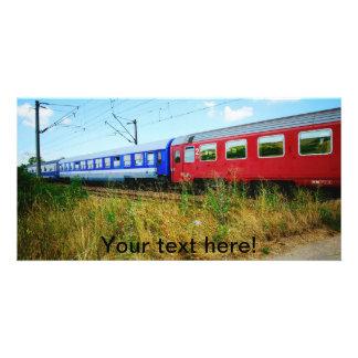 Train Photo Card Template