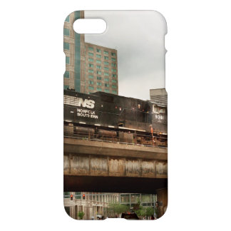 Train - Pittsburg Pa - The industrial city iPhone 7 Case