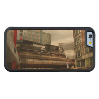 Train - Pittsburg Pa - The industrial city Maple iPhone 6 Bumper